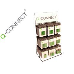 PILA Q-CONNECT ALCALINA EXPOSITOR DE SOBREMESA CON 90 BLISTER