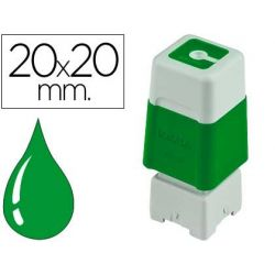 SELLO AUTOMATICO BROTHER 20MMX20 MM VERDE