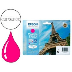 INK-JET EPSON STYLUS T7023 MAGENTA XL WP-4000 4500 CAPACIDAD 2400 PAG