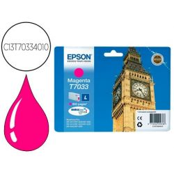 INK-JET EPSON STYLUS T7033 MAGENTA L WP-4000 4500 CAPACIDAD 1200 PAG