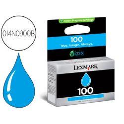 INK-JET LEXMARK 100 BC BL CIAN CAPACIDAD 200 PAG