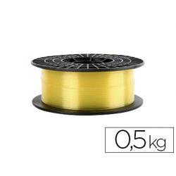FILAMENTO 3D COLIDO GOLD TRANSLUCIDO X PLA 1,75 MM 0,5 KG AMARILLO