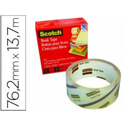 CINTA ADHESIVA SCOTCH 845 BOOK TAPE 76,2MM X 13,7 MT