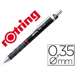 PORTAMINAS ROTRING TIKKY 0,35 MM NEGRO
