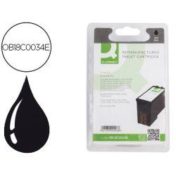 INK-JET Q-CONNECT COMPATIBLE LEXMARK Z800 845 1400 P900 4300 6200 6300 X255033003500 NEGRO N34XL 475