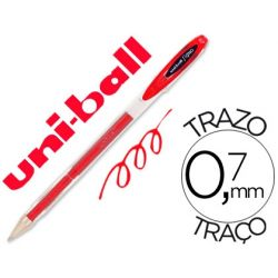 BOLIGRAFO UNI-BALL ROLLER UM-120 SIGNO 0,7 MM TINTA GEL COLOR ROJO