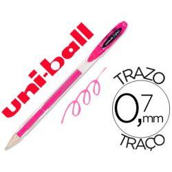 BOLIGRAFO UNI-BALL ROLLER UM-120 SIGNO 0,7 MM TINTA GEL COLOR ROSA