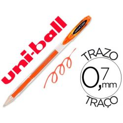 BOLIGRAFO UNI-BALL ROLLER UM-120 SIGNO 0,7 MM TINTA GEL COLOR NARANJA