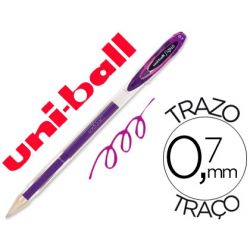 BOLIGRAFO UNI-BALL ROLLER UM-120 SIGNO 0,7 MM TINTA GEL COLOR VIOLETA