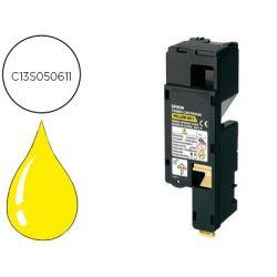 TONER EPSON C13S050613 AL-C1700/C1750/CX17 AMARILLO 1400 PAG