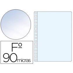 FUNDA MULTITALADRO SARO FOLIO 90 MC PVC CRISTAL