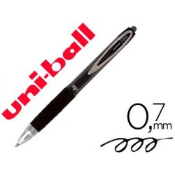 BOLIGRAFO UNI-BALL ROLLER UMN-207 RETRACTIL 0,7 MM COLOR NEGRO