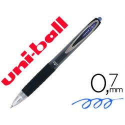 BOLIGRAFO UNI-BALL ROLLER UMN-207 RETRACTIL 0,7MM COLOR AZUL