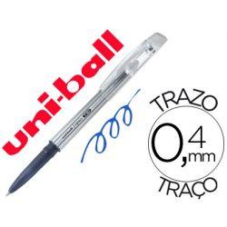 BOLIGRAFO UNI-BALL ROLLER UF-220 BORRABLE 0,7 MM TINTA GEL AZUL