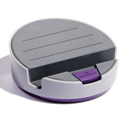 SOPORTE PARA TABLET DURABLE VARICOLOR SMART OFFICE DOS ANGULOS POSICIONAMIENTO COLOR GRIS/MORADO 145