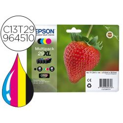 TONER EPSON 29XL HOME XP 235 / 332 / 335 / 432 / 435 PACK MULTICOLOR NEGRO MAGENTA CIAN AMARILLO