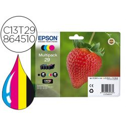 TONER EPSON 29 HOME XP 235 / 332 / 335 / 432 / 435 PACK MULTICOLOR NEGRO MAGENTA CIAN AMARILLO