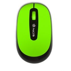 RATON NGS DUST OPTICO 1000 DPI INALAMBRICO NANO RECEPTOR USB 2,4 GHZ FLUOR VERDE