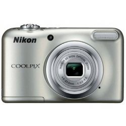 CAMARA DIGITAL NIKON COOLPIX A10 PLATA 16.1 MPX ZOOM OPTICO 5X GRABA VIDEO HD 720P BATERIA DE LITIO