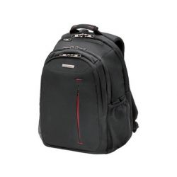 "MOCHILA PARA PORTATIL SAMSONITE GUARDIT 14"" COLOR NEGRO CON ASA 4 BOLSILLOS EXTERIORES 190X295X430MM"
