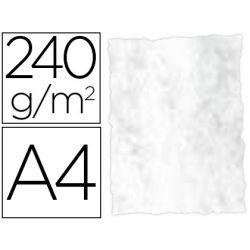 PAPEL COLOR LIDERPAPEL PERGAMINO A4 240G/M2 GRIS PACK DE 25 HOJAS