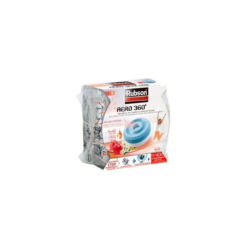 Recambio pastilla deshumidificador rubson aero 360 aromaterapia fruta - Aero 360 rubson ...