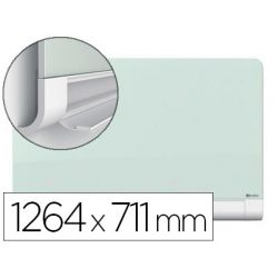 PIZARRA BLANCA NOBO DIAMOND CRISTAL MAGNETICA ESQUINAS REDONDAS 1264X711 MM