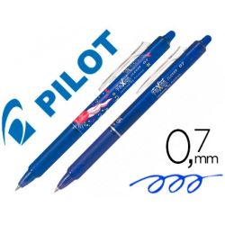 BOLIGRAFO PILOT FRIXION CLICKER BORRABLE 0,7 MM 10 ANIVERSARIO BLISTER DE 1 BOLIGRAFO AZUL+1 BOLIGRA