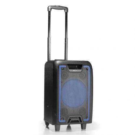 ALTAVOZ NGS BLUETOOTH PORTATIL SPEAKER WILDMETAL PANTALLA LED 50W 1800 MAH MICRO SD USB AUX