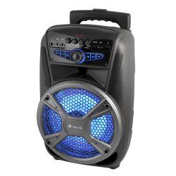 ALTAVOZ NGS BLUETOOTH PORTATIL SPEAKER WILDMAMBO PANTALLA LED 35W 18000 MAH MICRO SD USB AUX IN RADI
