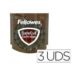 CUCHILLA FELLOWES PARA CIZALLAS NEUTRON / NEUTRON PLUS / PROTON / ELECTRON CORTES MICROPERFORADO