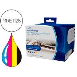 INK-JET MEDIARANGE COMPATIBLE EPSON T1281/T1284 MULTIPACK DE 5 UDS NEGRO(2)/AMARILLO/CIAN/MAGENTA
