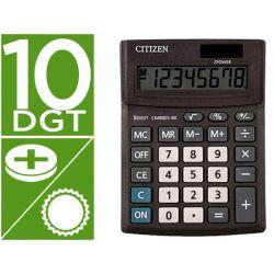 CALCULADORA CITIZEN SOBREMESA BUSINESS LINE ECO EFICIENTE SOLAR Y PILAS 10 DIGITOS 136X100X32 MM