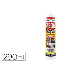 PEGATODO SOUDAL MS POLIMERO BLANCO 290 ML