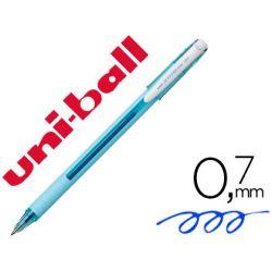 BOLIGRAFO UNI-BALL ROLLER JETSTREAM SX-101 0,7 MM AZUL CIELO TINTA GEL AZUL