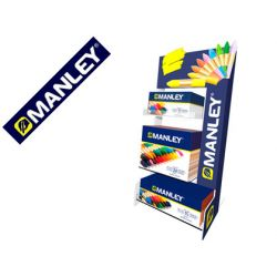 LAPICES CERA MANLEY EXPOSITOR SOBREMESA 495X230X220 MM
