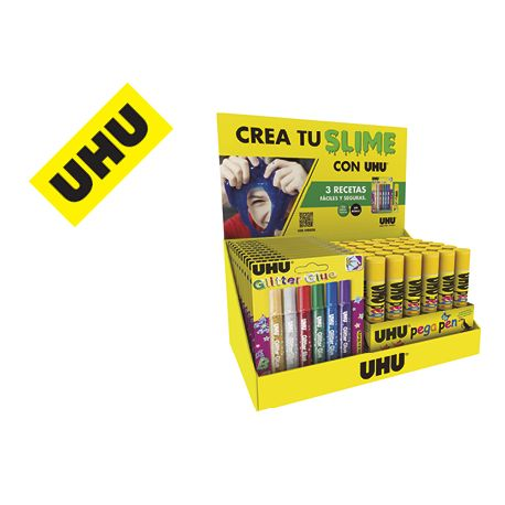 EXPOSITOR UHU CREA TU SLIME SOBREMESA 175X325X200 MM
