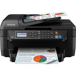 EQUIPO MULTIFUNCION EPSON WORKFORCE WF-2750DWF INYECCION DE TINTA COLOR 33 PPM BANDEJA DE ENTRADA 15