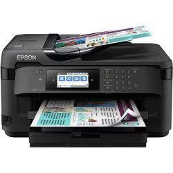EQUIPO MULTIFUNCION EPSON WORKFORCE WF-7710DWF INYECCION DE TINTA COLOR A3 BANDEJA DE ENTRADA 180 HO