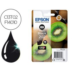 INK-JET EPSON 202 XP-6000 / XP-6005 / XP-6100 / XP-6105 PHOTO NEGRO 400 PAG