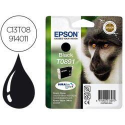INK-JET EPSON T0891 STYLUS S20 / 21 / SX105 NEGRO -170 PAG-
