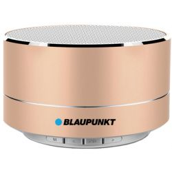 ALTAVOZ BLAUPUNKT PORTATIL MINI BLUETOOTH POTENCIA DE SALIDA 5W COLOR ORO