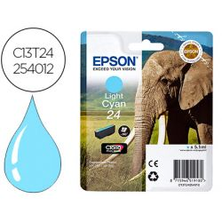 INK-JET EPSON 24 EXPRESSION XP-55 / 750 / 760 / 850 / 860 / 950 / 960 / 750 / 850 CIAN CLARO 240 PAG