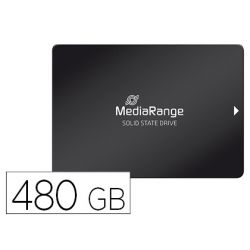 "DISCO DURO MEDIARANGE INTERNO 2.5"" SSD 480 GB SATA III 6 GB/S USB 3.0 NEGRO"