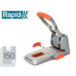 TALADRADOR RAPID HDC150 SUPREME METALICO/ABS PLATA/NARANJA CAPACIDAD 150 HOJAS