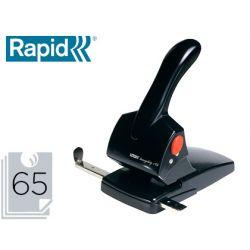 TALADRADOR RAPID HDC65 FASHION METALICO/ABS COLOR NEGRO CAPACIDAD 65 HOJAS