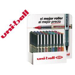 ROTULADOR UNI-BALL ROLLER UB-157 0,7 MM EXPOSITOR DE 54 UNIDADES