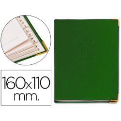 LISTIN TELEFONICO 5030 TAPA FLEXIBLE TAMA¾O 16X11 CM -CON CANTONERA DORADA
