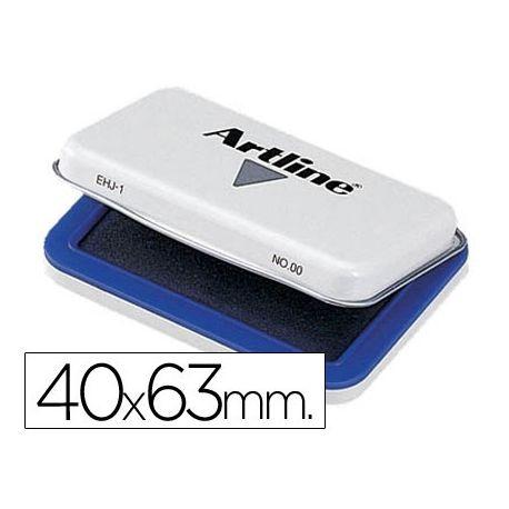 TAMPON ARTLINE N. 00 AZUL -40X63 MM
