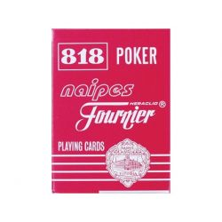 BARAJA FOURNIER POKER INGLES Y BRIDGE -818-55